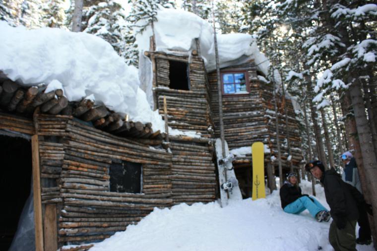 Ides of march skiing at breckenridge leo 39 s cabin in for Cabins in breckenridge