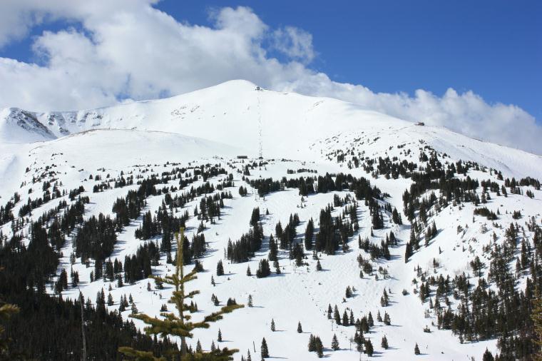 Breckenridge Ski Resort Peak 8 Imperial Bowl