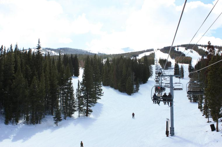 Breckenridge Ski Resort Peak 9 Chairlift