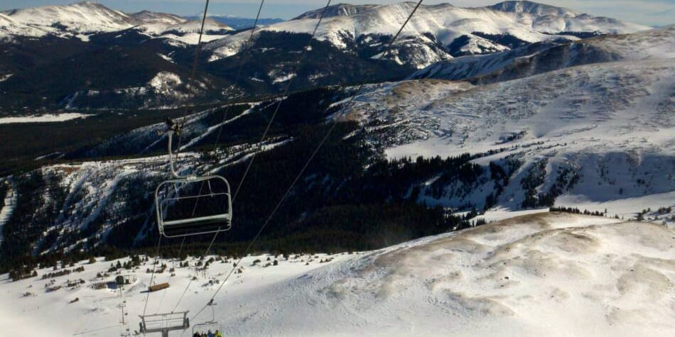 Breckenridge Ski Resort Imperial Chairlift Express