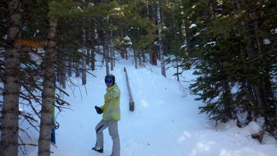 Breckenridge Ski Resort Leo's Cabin Tree Rail