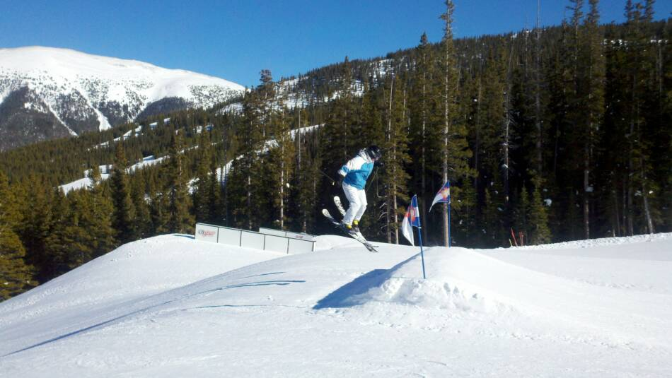 Copper Mountain Ski Resort Catalyst Jump