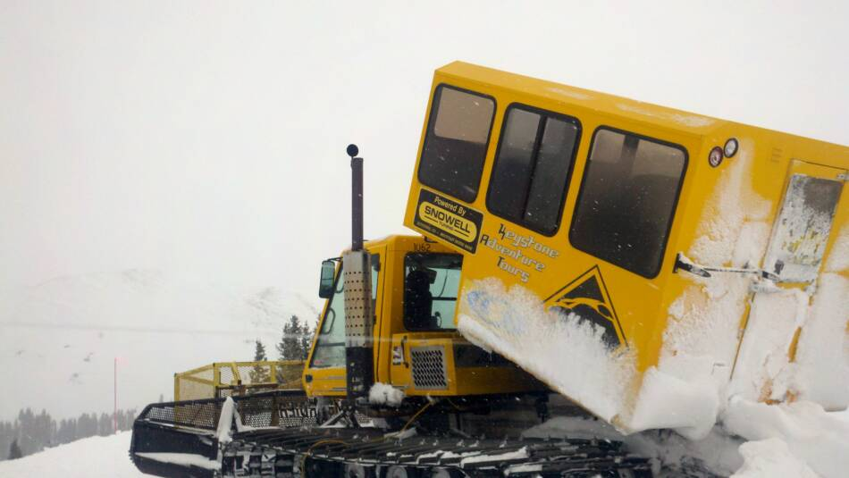 Keystone Ski Resort Snow Cat