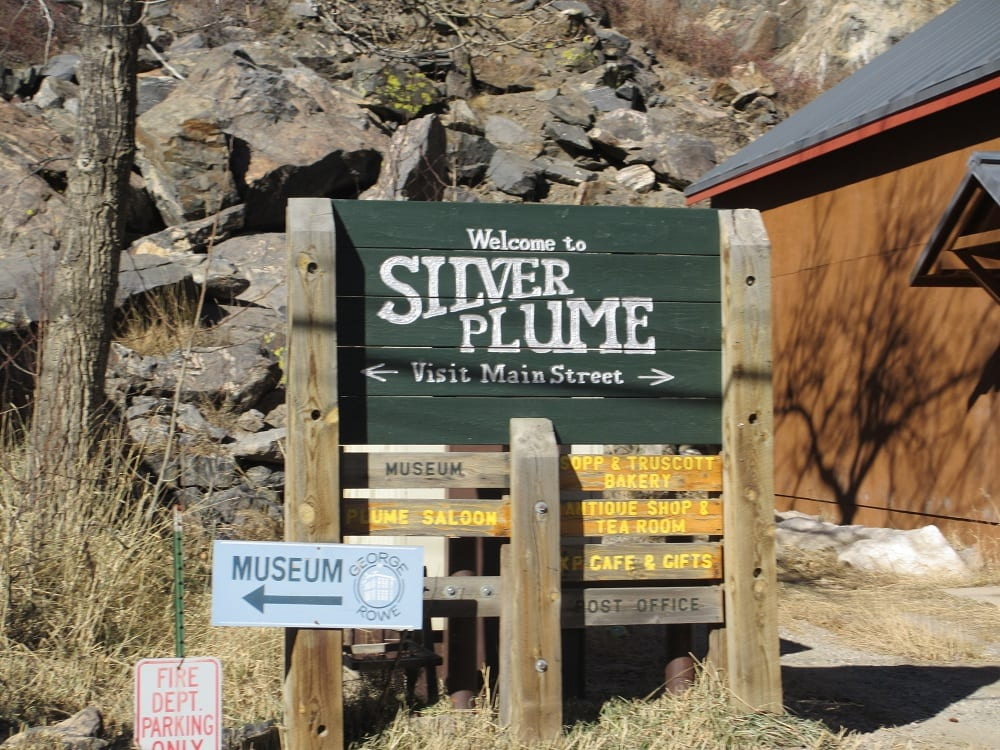 Silver Plume Main Street