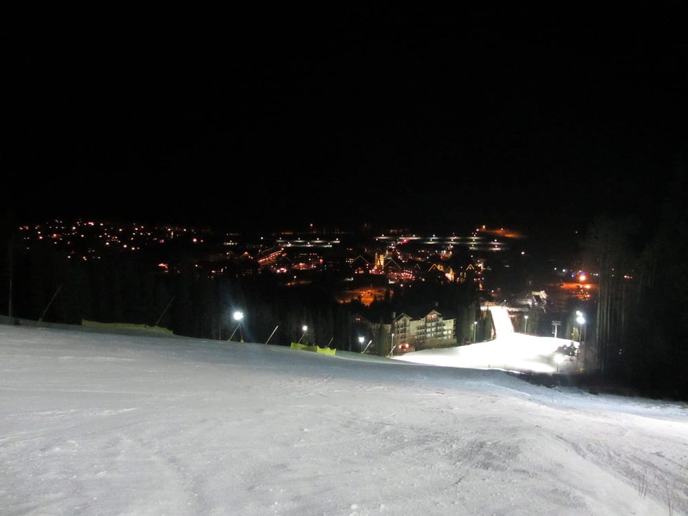 Keystone Night Skiing CO