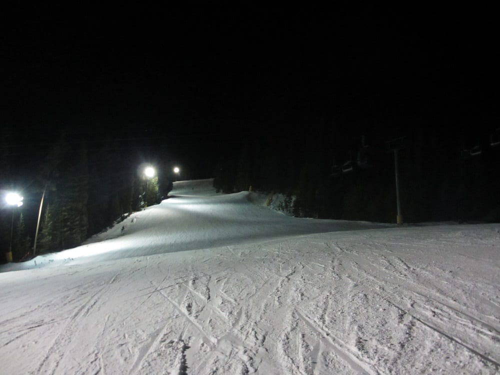 Keystone Night Skiing
