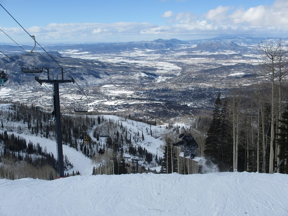 Steamboat Snowboarding CO