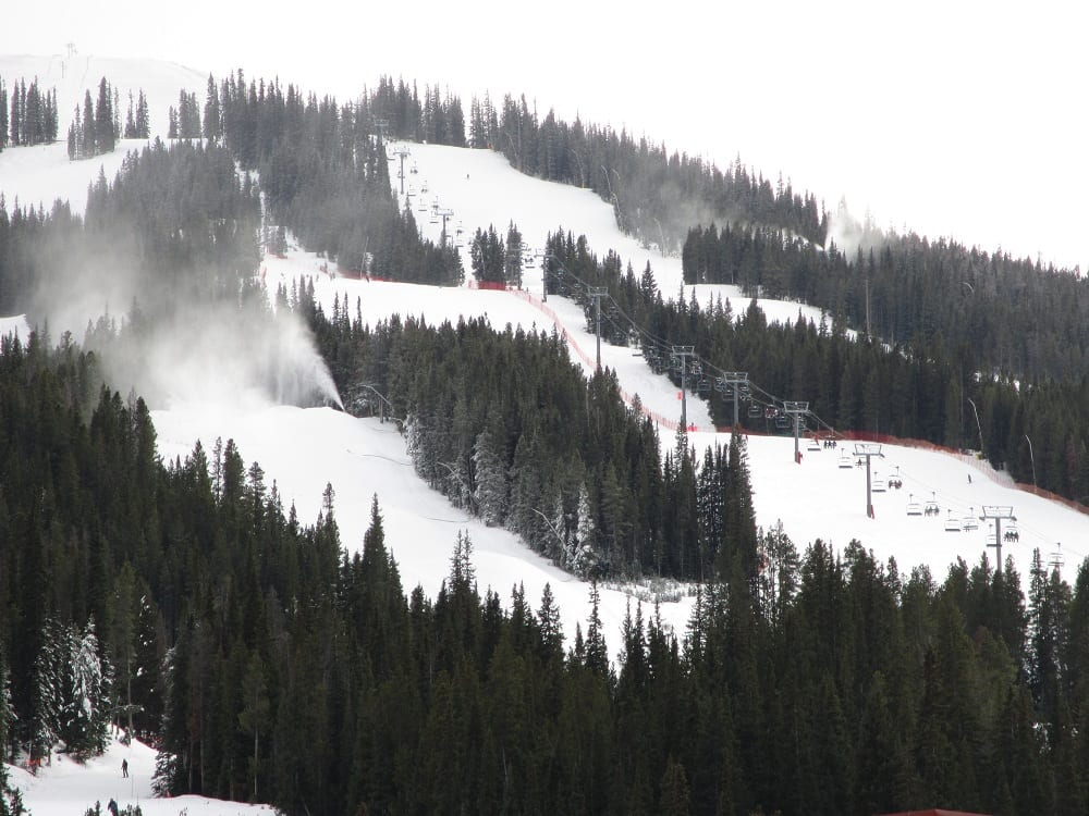 Copper Mountain Ski Resort American Eagle Chairlift