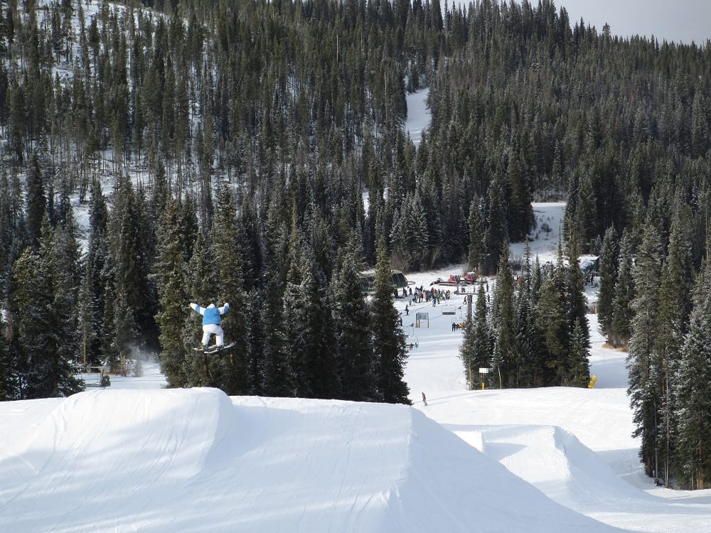 Winter Park Terrain Jump