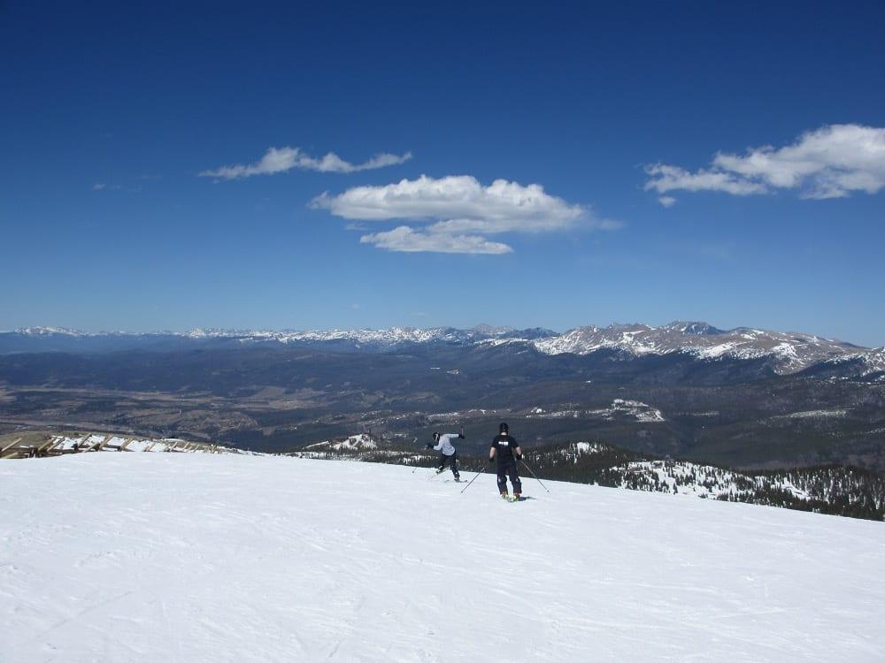 Mary Jane Ski Area Summit Skiing