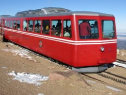 Pikes Peak Cog Railway Manitou Springs Colorado