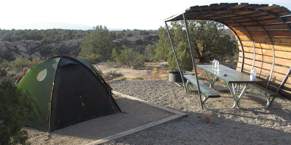Hovenweep National Monument Camping