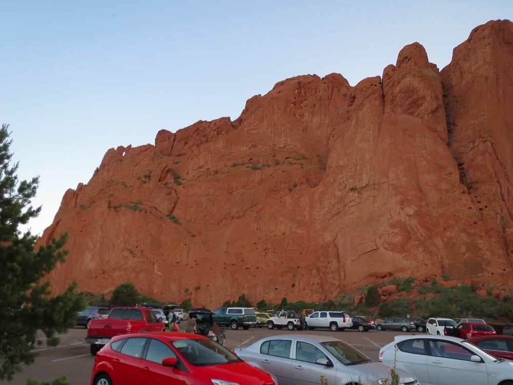 Garden of the gods park natural landmark colorado - Garden of the gods rock climbing ...