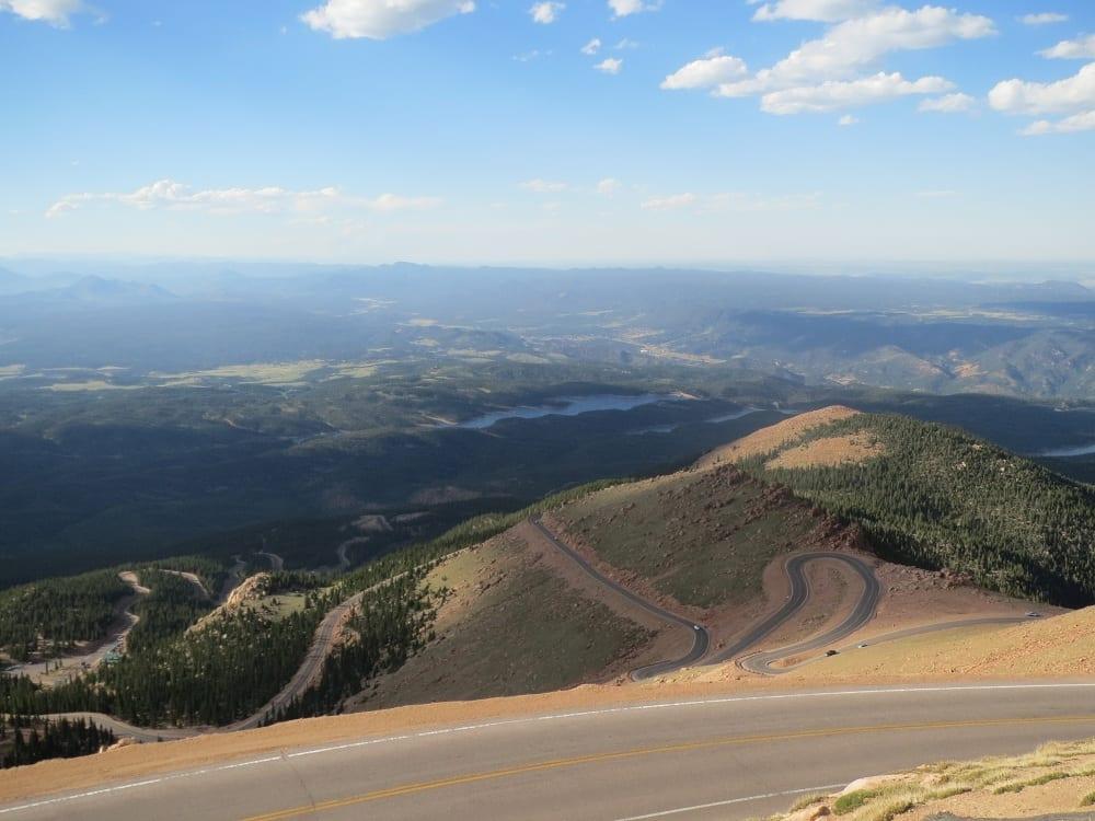 Peak to Peak Highway Pikes Peak Highway