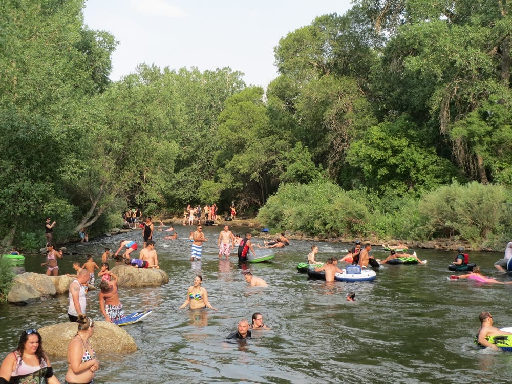 Clear Creek Whitewater Park Golden Co River Tubing
