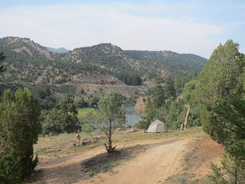 Radium Hot Springs Camping