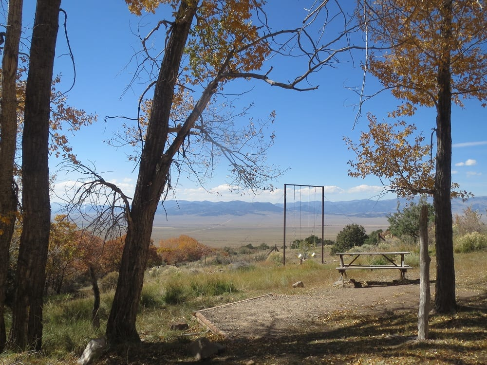 Valley View Hot Springs Camping