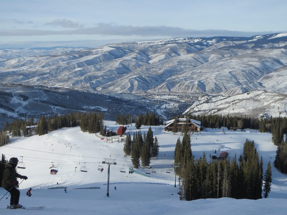 Beaver Creek Ski Resort Aerial View