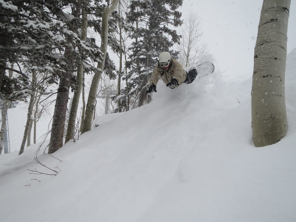 Steamboat Ski Resort Face Plant