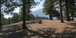 Twin Lakes Dispersed Campsite