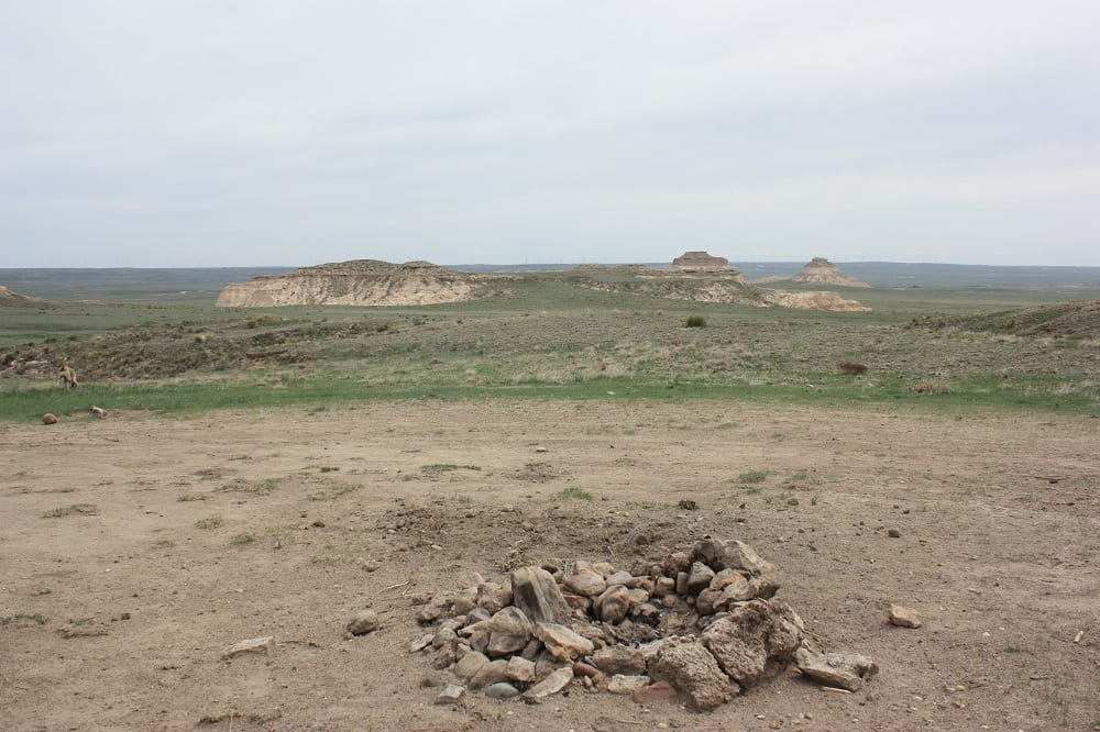 Pawnee Buttes Dispersed Campsite Briggsdale CO