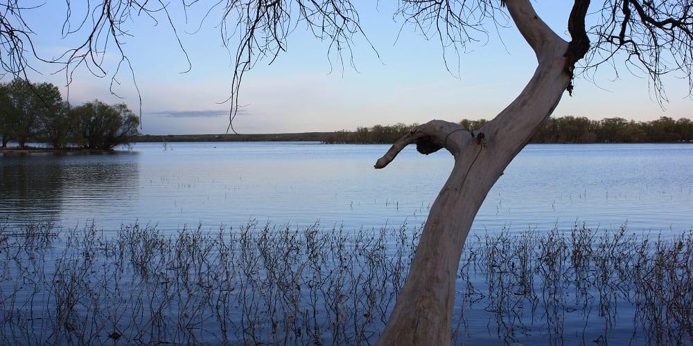 Prewitt Reservoir Colorado Dusk