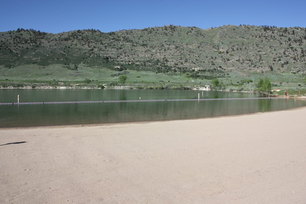 Big Soda Lake Swim Beach