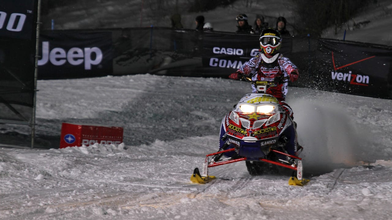 Winter X Games Aspen Colorado Snowmobiling