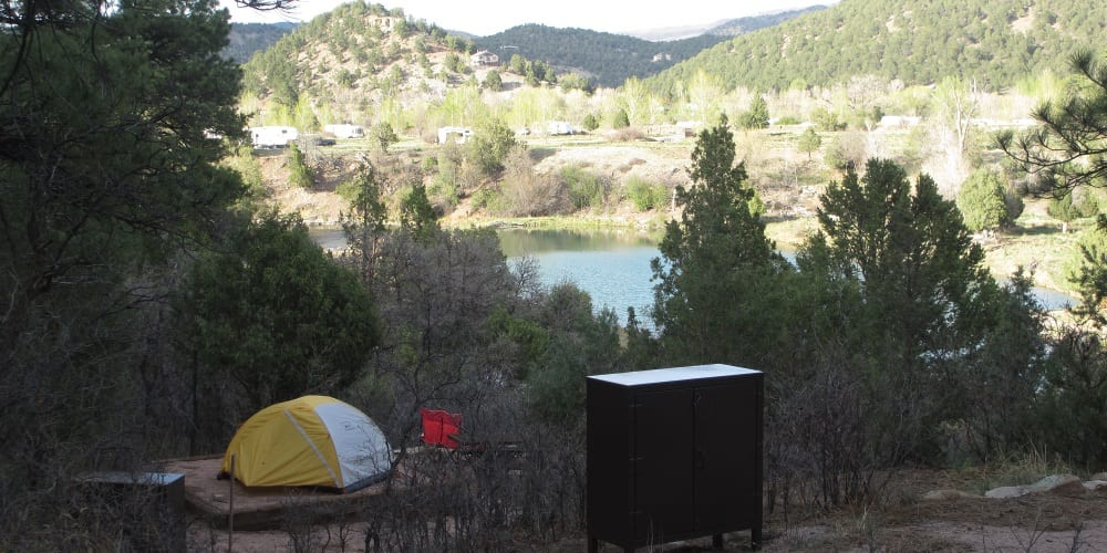 Ridgway State Park Camping