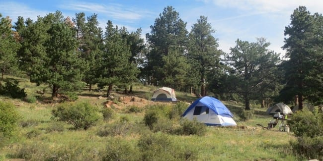 Where To Camp In Colorado Campgrounds Campsites And