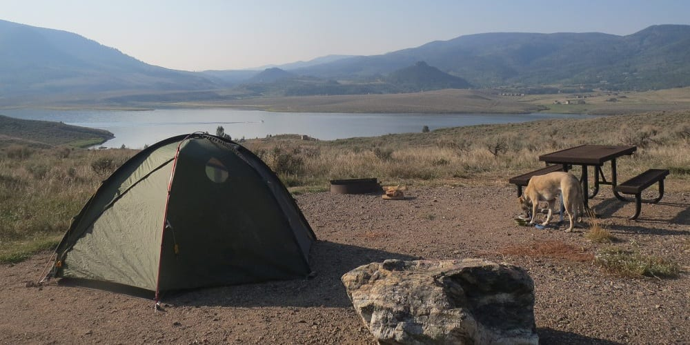 Stagecoach Reservoir Camping