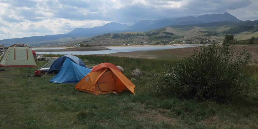 Green Mountain Reservoir Camping