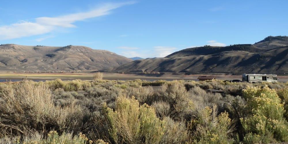 Blue Mesa Reservoir Camping