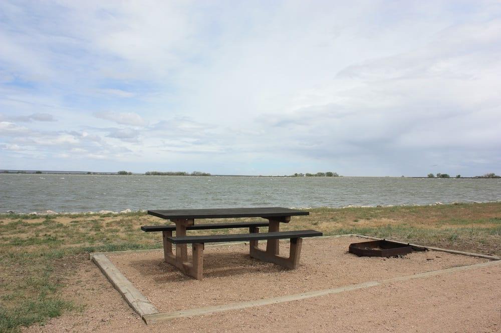 Jackson Lake Lakeside Campground