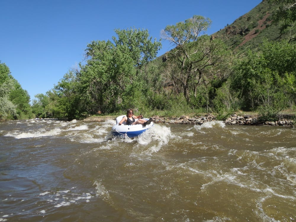Tubing The Mighty Clear Creek In Golden Things To Do At