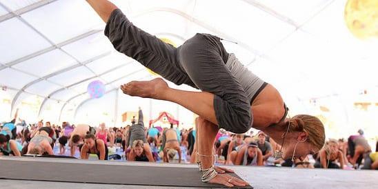 Wanderlust Festival Yoga