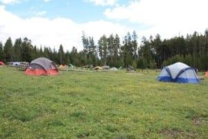 Yellowstone National Park Bridge Bay Campground