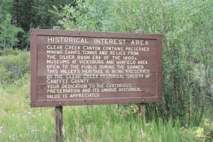 Clear Creek Canyon Historic Area