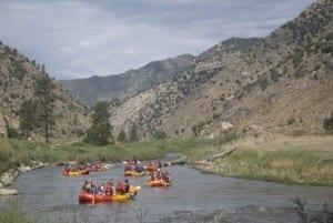 Arkansas River Rafting Bighorn Sheep Canyon