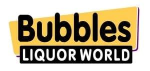Bubbles Liquor World Logo