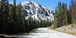 Autumn Drive Over Cottonwood Pass