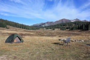 Kebler Pass Dispersed Camping
