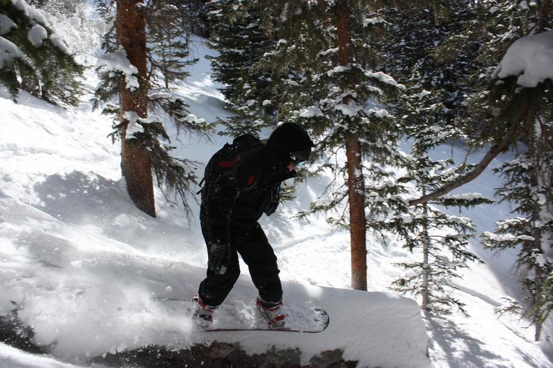 Loveland Pass Backcountry Skiing Fallen Tree