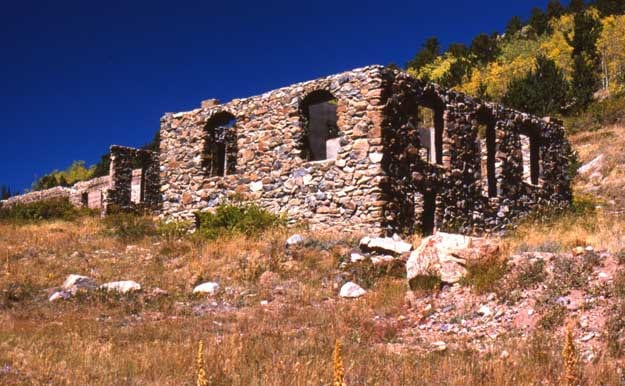 Caribou Ghost Town Colorado Ghost Towns