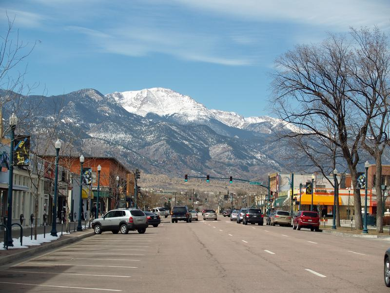 Colorado Springs Colorado El Paso County Towns In Co