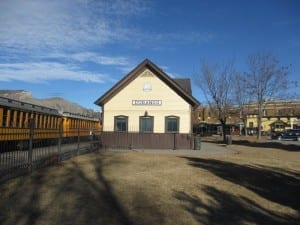 Durango CO Train Depot