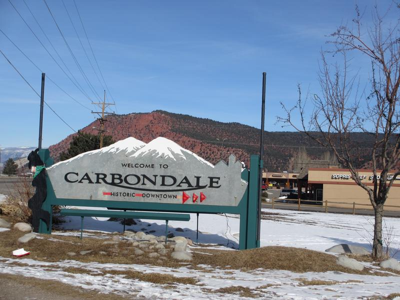 carbondale above