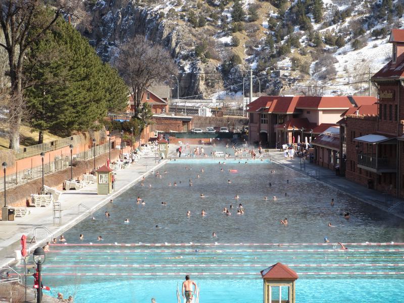 Glenwood Hot Springs Glenwood Springs Pool And Lodging