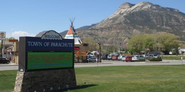 Parachute Colorado