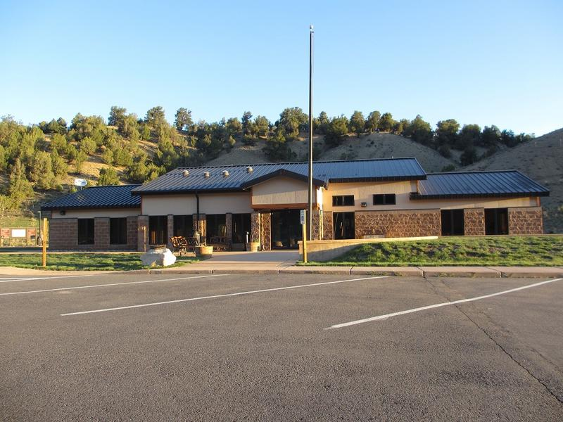 Rifle Gap State Park Visitor Center